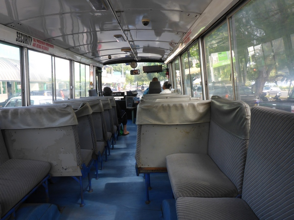Rarotonga bus, anti-clockwise route