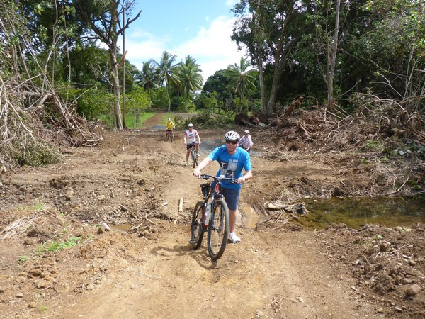 Cycling off the beaten track, with Rarotonga Eco Tours