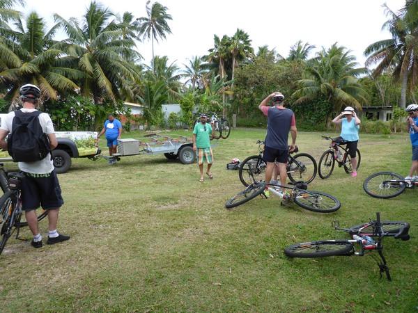 Storytellers eco cycle tour, Rarotonga