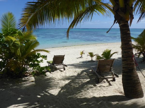 Vaikoa beach, Aitutaki