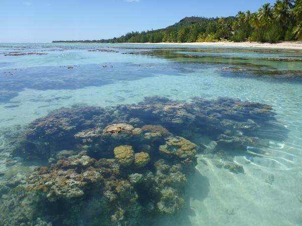 Vaikoa lagoon, Aitutaki