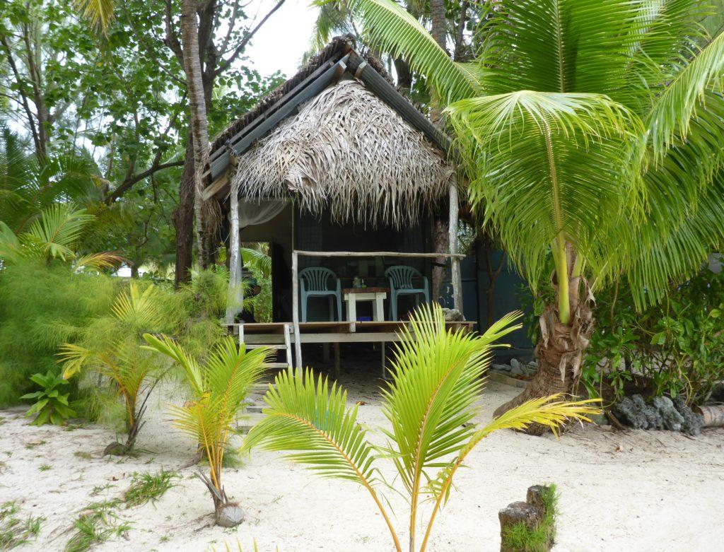 Matriki beach hut, Aitutaki