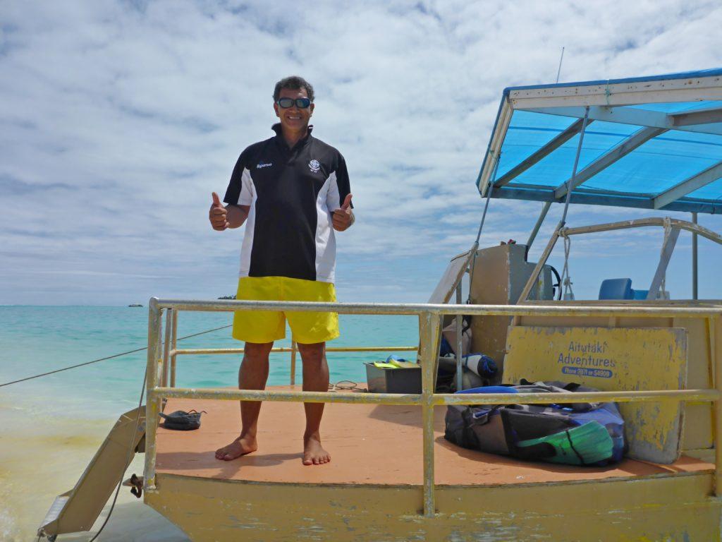 Puna of Aitutaki Adventures... A top geezer
